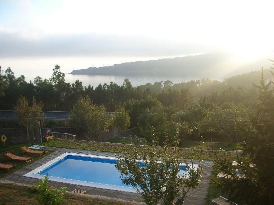 Cee, Spanje: vistas desde el hotel