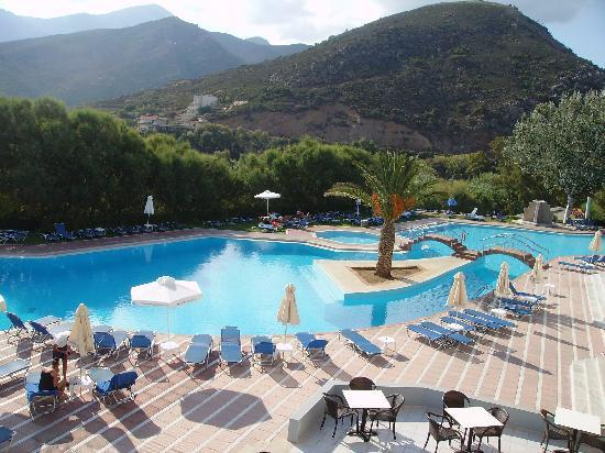 Fodele Beach & Water Park Holiday Resort: Piscina principale