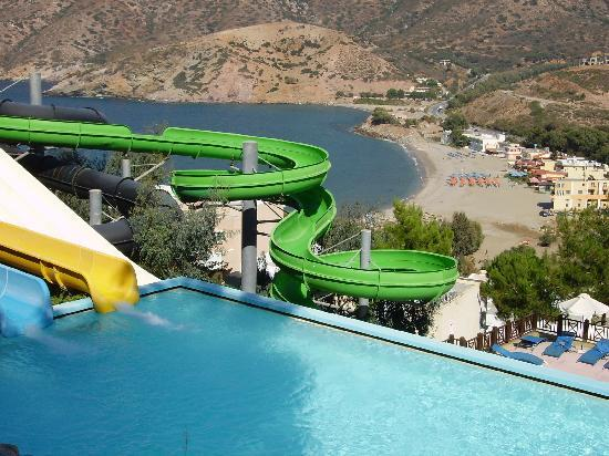 Fodele Beach & Water Park Holiday Resort: Parco acquatico del Fodele