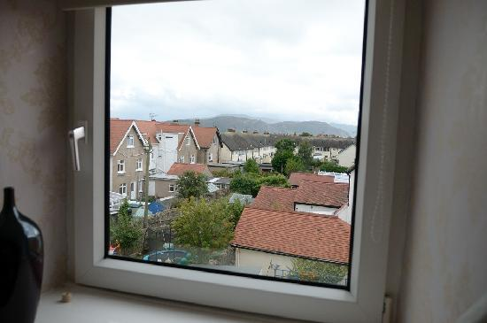 The Cliffbury Guest House: View from one of the windows in room 6
