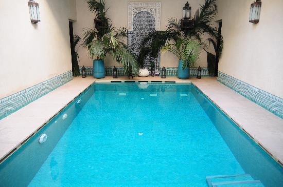 Swimming Pool at Riad Kniza