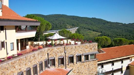 Petriolo Spa Resort: Le terrazze
