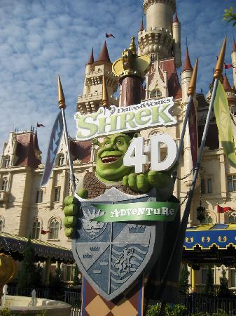 Sentosa Island, Singapore: Shrek World 4D, Sentosa