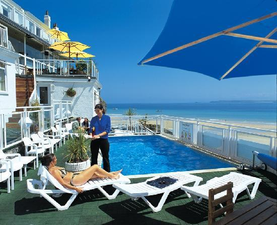 Pedn olva hotel updated 2018 reviews price comparison st ives england tripadvisor for Cornwall hotels with swimming pools