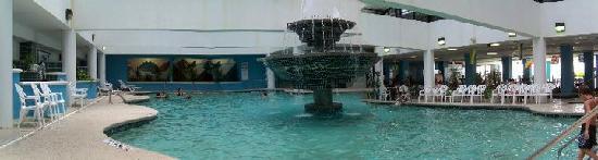 Landmark Resort: The indoor pool