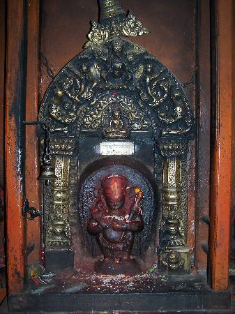 Golden Temple (Hiranya Varna Mahavihar): golden temple idol