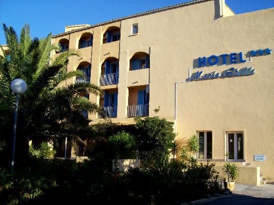 Hotel Maria Stella: la facciata principale