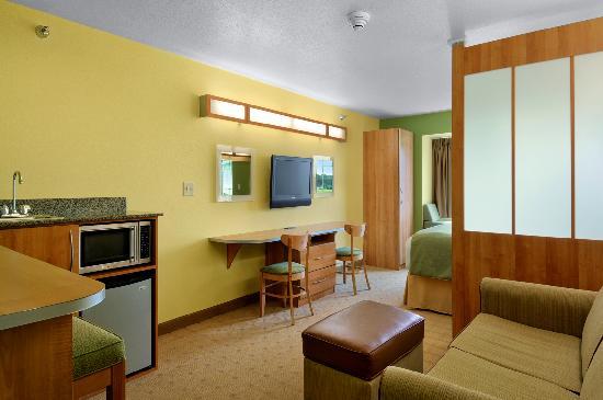 Microtel Inn & Suites by Wyndham Delphos: Suite