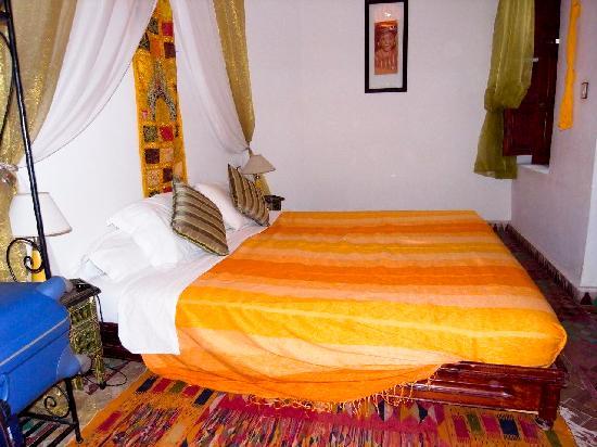Riad Al Warda: habitación amarilla