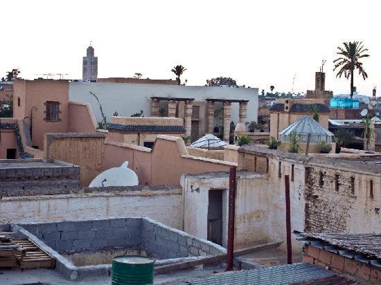 Riad Al Warda: vista desde la terraza