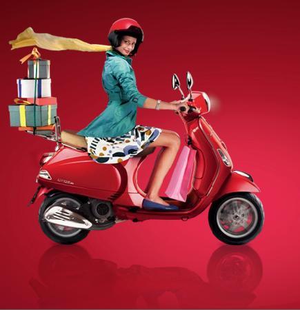 Trip Chic! Live in Vespa: de compras