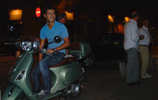 Trip Chic! Live in Vespa: por la noche