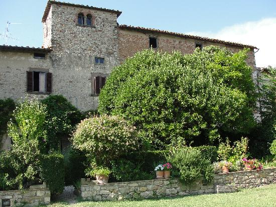 Tuscany, Italy: Exterior of castle