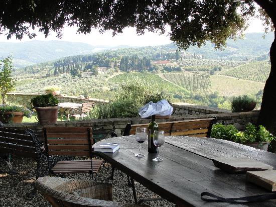 Tuscany, Italia: Views from Garden