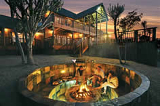 Addo Afrique Estate: Supper around the campfire
