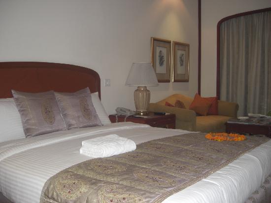Taj Mahal Hotel: mi cama