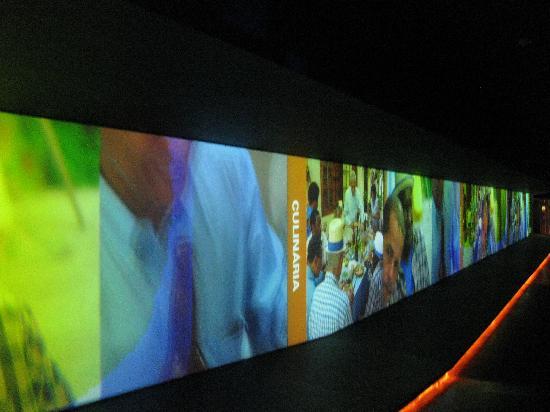 Museu da Língua Portuguesa (Museum der Portugiesischen Sprache): interior museo