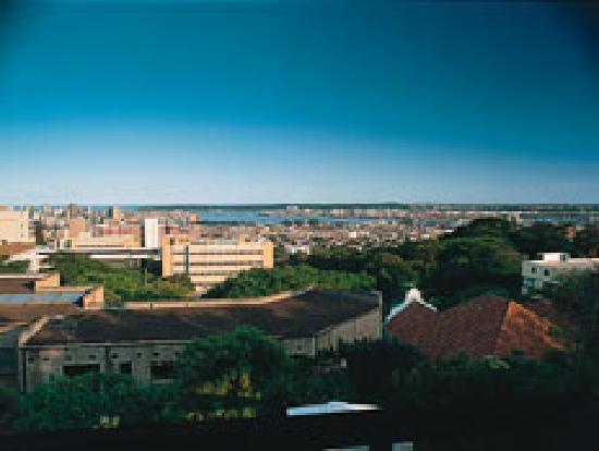 Ridgeview Lodge : Panoramic view over Durban