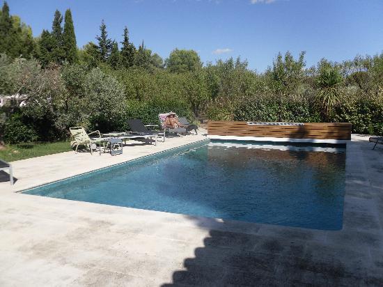 Mas Bellevue : the pool