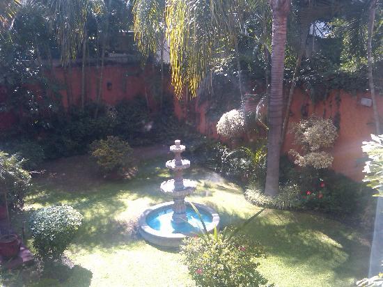 La Mansion del Sol: Garden Outside My Room