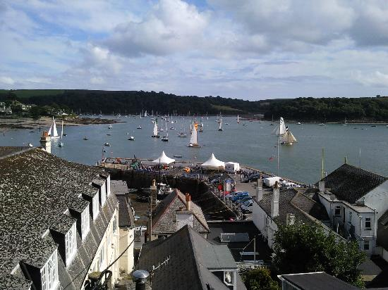 View over harbour from Crows Nest, St Mawes