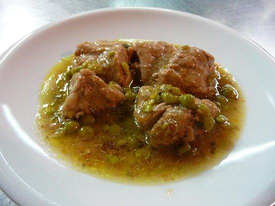Trattoria il Contadino: spezzatino (veal stew)