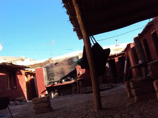 Burrito Hostel: descansando en la hamaca :)