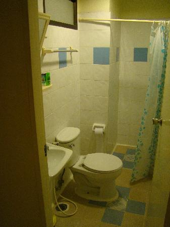 New Merry V Guesthouse: Private bathroom