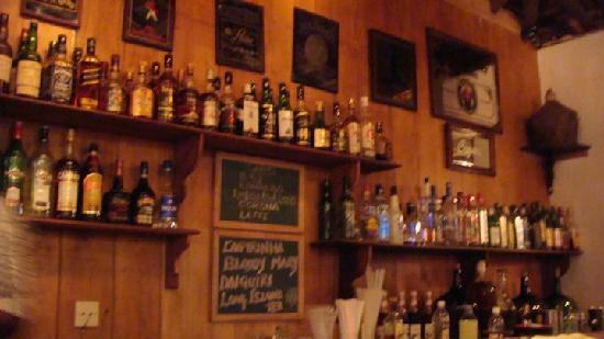 Cavala Seaside Resort: Bar - quite stocked up !!