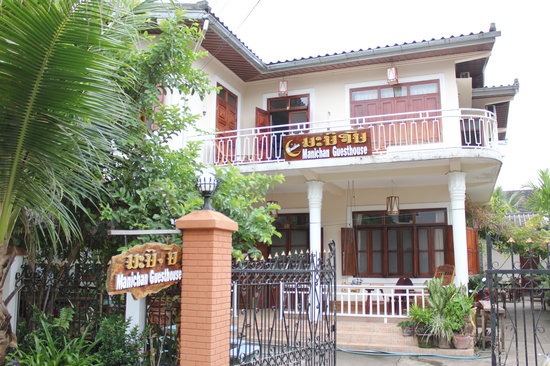 Manichan Guesthouse: Guesthouse Manichan front