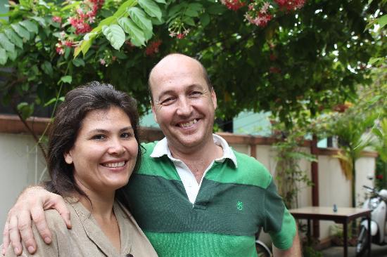 Guesthouse Manichan: Linda & Peter