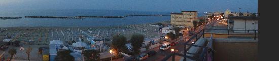 Viserbella, Italien: panorama dall hotel