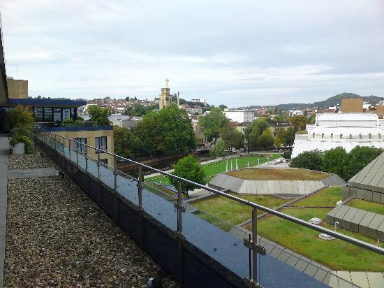 Parkhotel Pforzheim: Blick von der Dachterrasse