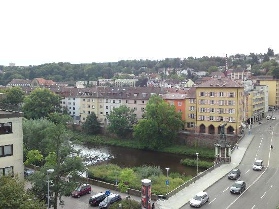 Pforzheim, Deutschland: Blick von der Dachterrasse