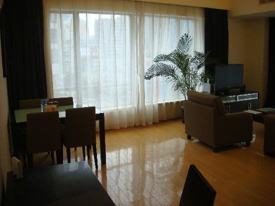 เฟรสเซอร์ เรสซิเด้นซ์: Living room