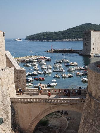 Dubrovnik, Croatia: The harbour