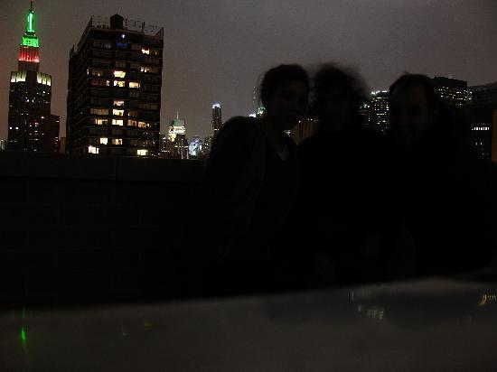 Envoy Club Suites: La terasse de nuit ++++++