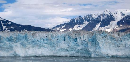 Hubbard Glacier From The Holland America Rotterdam