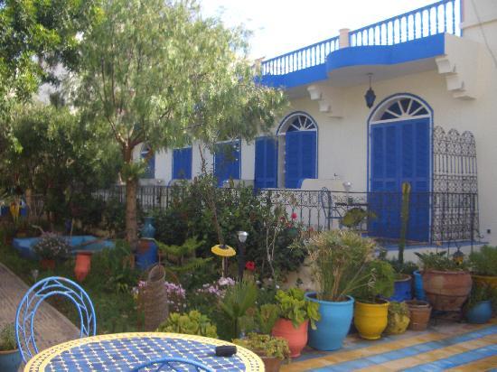 Villa Flora : Garden/Breakfast area