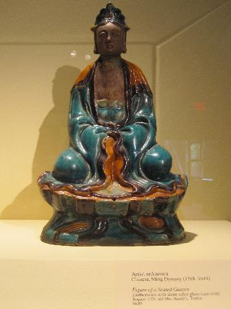 Palmer Museum of Art: Figure of a Seated Guayin - unknown artist