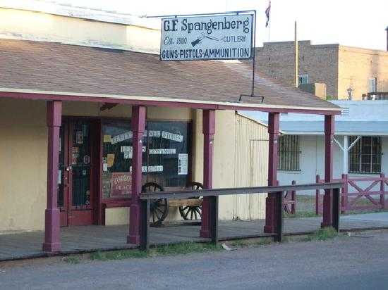 Tombstone, AZ: Spangenburg Gun Shop