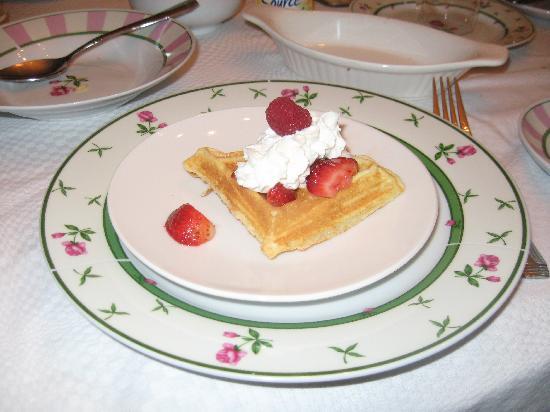 Stratford Serenity: waffles
