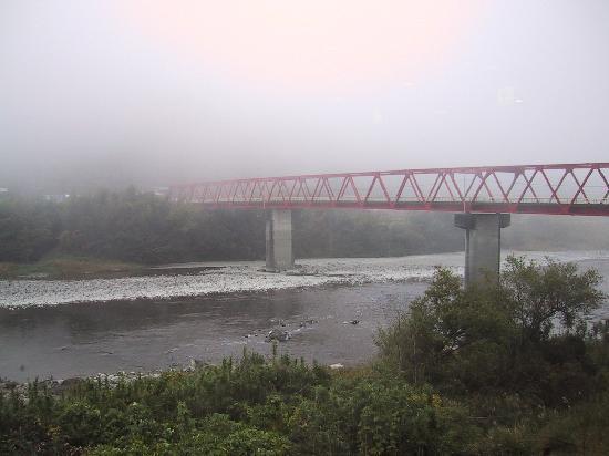 Shimanto, Giappone: 朝霧にけむる川面が幻想的