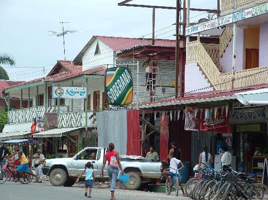 Bocas del Toro Province, Panama: Main Street Bocas Town