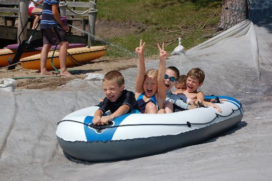 Kids having fun at Eagle Nest Lodge