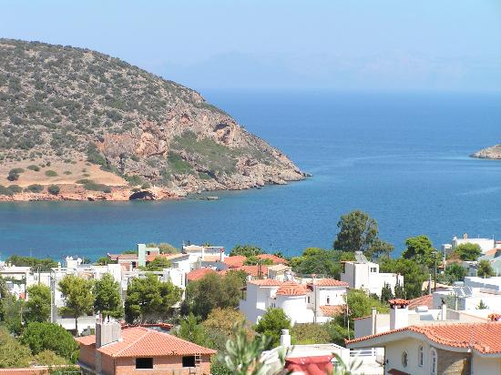 Porto Rafti, Grekland: Couldn't get enough of that view.