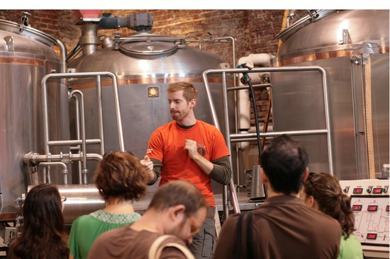Urban Oyster Tours: Brewed in Brooklyn Tour