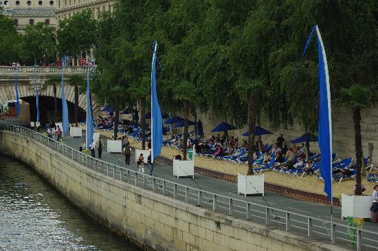 ปารีส, ฝรั่งเศส: Paris plage
