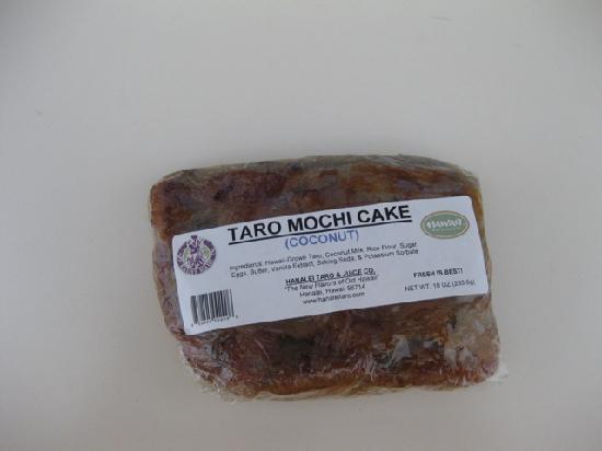 Hanalei Taro & Juice Company: cake