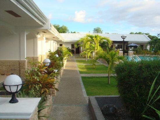Panglao Regents Park Resort: poolside